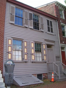 328 Mickle Street today (The Walt Whitman House)